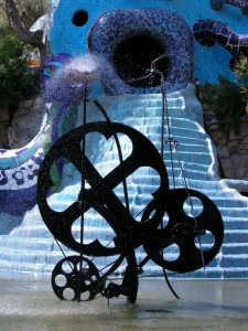 Fontana al giardino dei Tarocchi