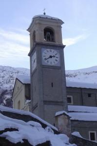 parrocchiale di lemie all'interno del paese