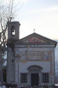 vecchissima chiesetta in frazione monasterolo