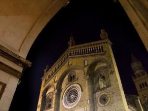 Facciata della cattedrale di Crema