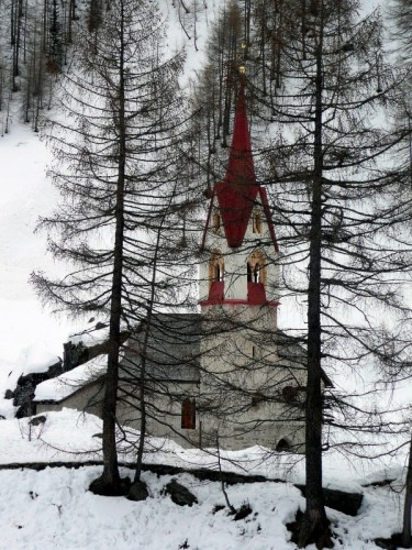 Valle Aurina - Disperdersi nella natura
