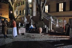rievocazione storica- mercato antica roma