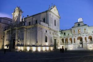Duomo di Lecce si sera