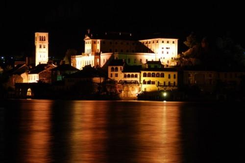Orta San Giulio - Notturno Monastero isola S.Giulio