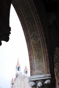 vista del duomo dal portico