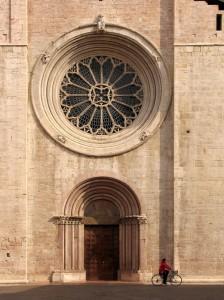 Rosone e portale di San Vigilio