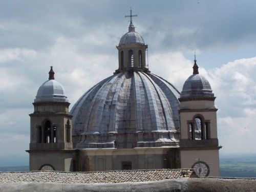 Montefiascone - Cattedrale Santa Margherita, particolare della cupola
