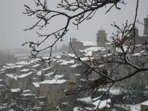 ..la neve….