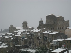 …ancora neve….