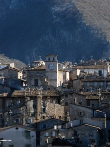 Scanno in posa,