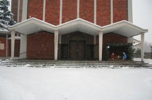 L'ingresso principale della S. Alessandro