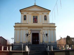 """La parrocchia di S.s. Alessandro e Martino """"Vista Frontale"""""""