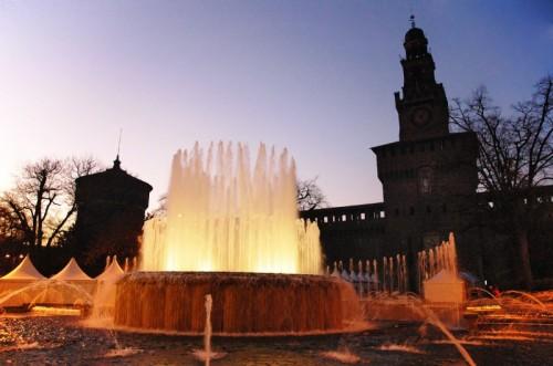 Milano - Fontana del Castello