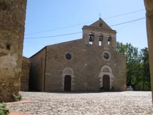 San Michele Arcangelo nel borgo di Castiglione della Valle
