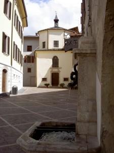 Fontana sulla piazzetta