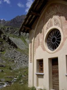 Chiesa montana nella Valle del Po