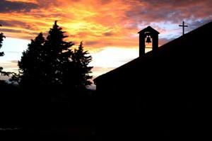 Santuario di Santa Maria delle Fonti al Tramonto