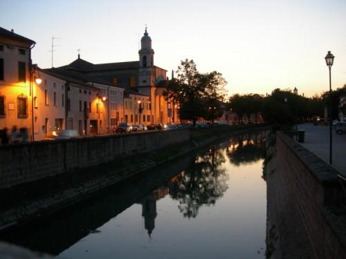 Lendinara - San Biagio all'imbrunire