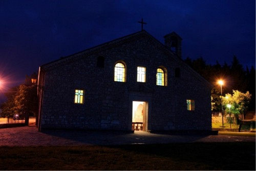 Tricarico - Il Santuario di Santa Maria delle Fonti