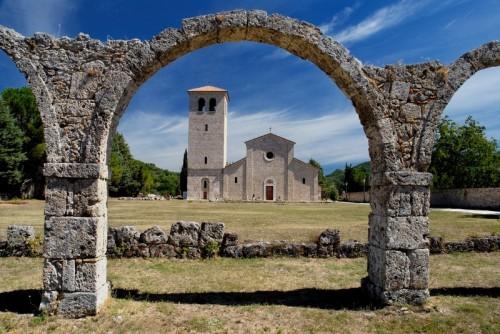 Castel San Vincenzo - Abbazia di Castel San Vincenzo