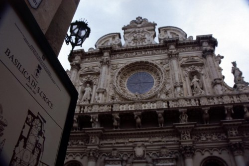 Lecce - Basilica di S.ta Croce