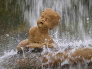 Il bambino bagnato