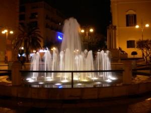 La fontana di piazza Vittorio Veneto