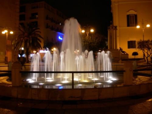 Matera - La fontana di piazza Vittorio Veneto