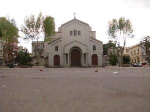 Chiesa di SS Filippo e Giacomo in Sant'Agostino vista da terra (RC)