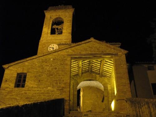 Arcevia - Il campanile di Castiglioni
