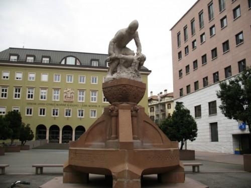 Bolzano - Una fontana particolare