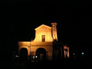 Notturna della chiesa di San Sisinio a Muronico