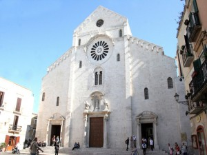 Cattedrale di Bari facciata principale