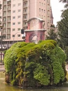 Spruzzi sull'arco di Alessandria