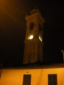 San Colombano di notte