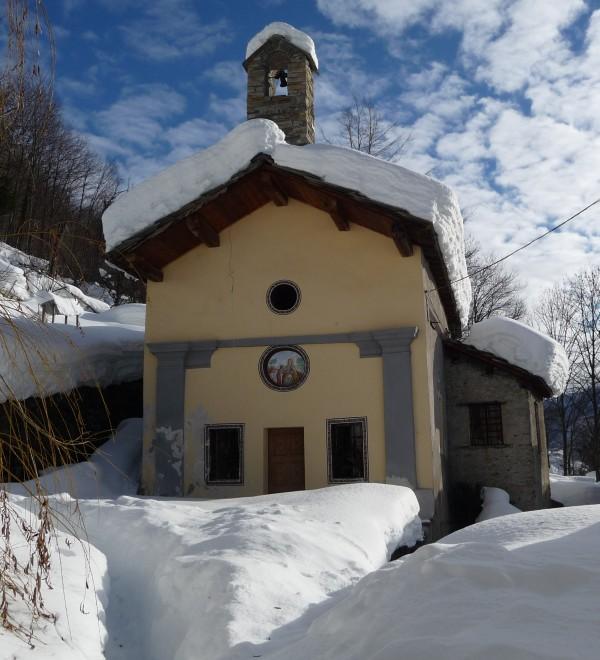 ''chiesa di Sant'Anna frazione Chiandusseglio LEMIE'' - Lemie