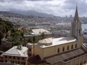 Chiesa di Di Negro  e panorama del porto