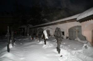 Cimitero nella Notte