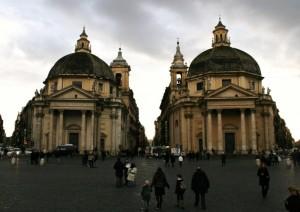 S.Maria in Montesanto e S.Maria dei Miracoli