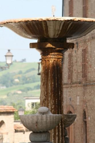 Tolentino - Fontana delle Conchiglie