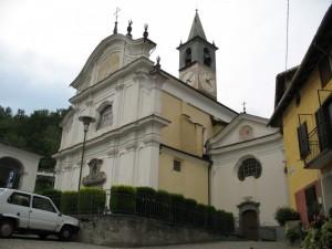 La parrocchiale di Sacco