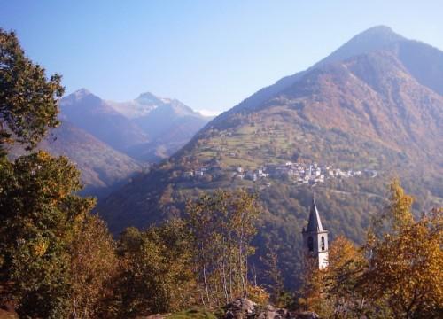 Cosio Valtellino - Campanile Chiesa di S.Lorenzo a Sacco