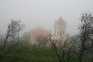 perso nella nebbia