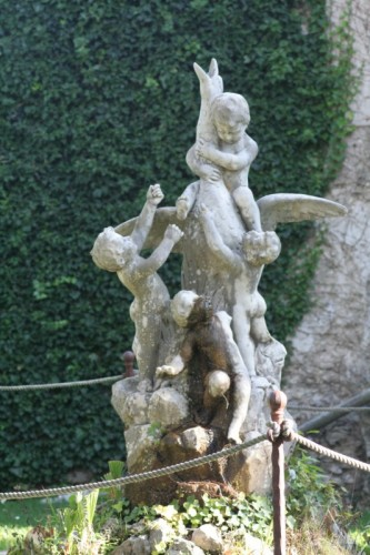 Positano - fontana di villa Cimbrone