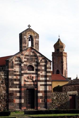 Ghilarza - SAN PALMERIO (sullo sfondo il campanile di SAN MACARIO) - Ghilarza