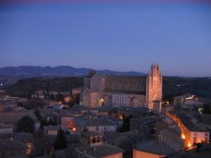 Duomo di Orvieto-veduta dalla Torre del Moro