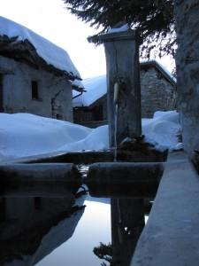 fontana del villaggio