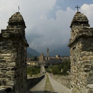La strada per l'abbazia