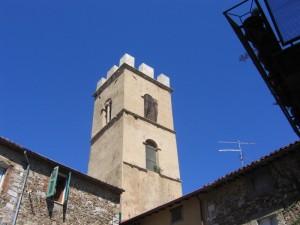 Il campanile di Montemerano
