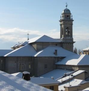 San Filippo Neri con la neve